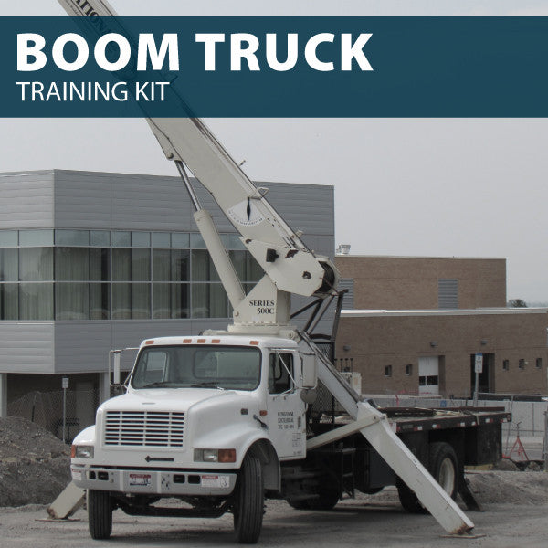 Boom Truck Training Kit (CD or USB)