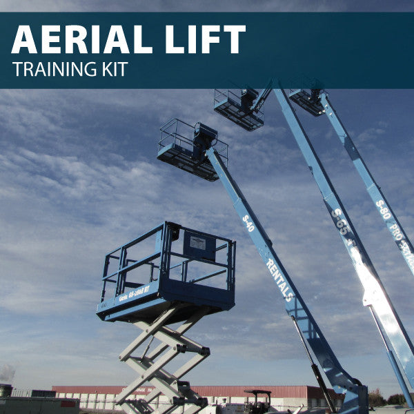 Aerial / Scissor Lift Training Kit (CD or USB)