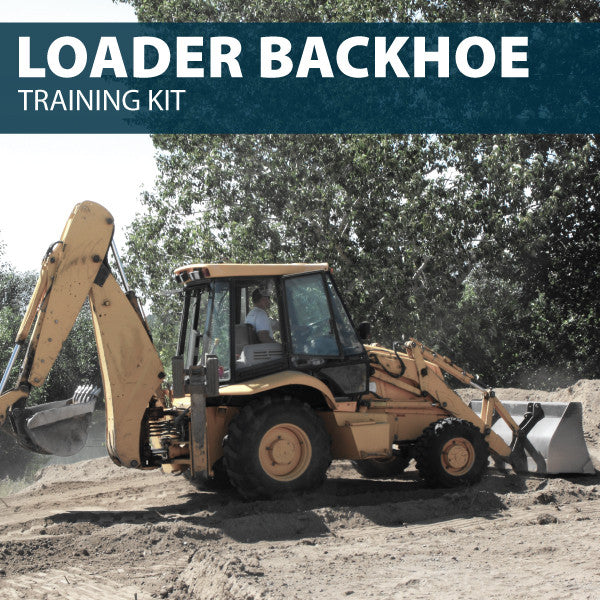 Backhoe Loader Training Kit (CD or USB)