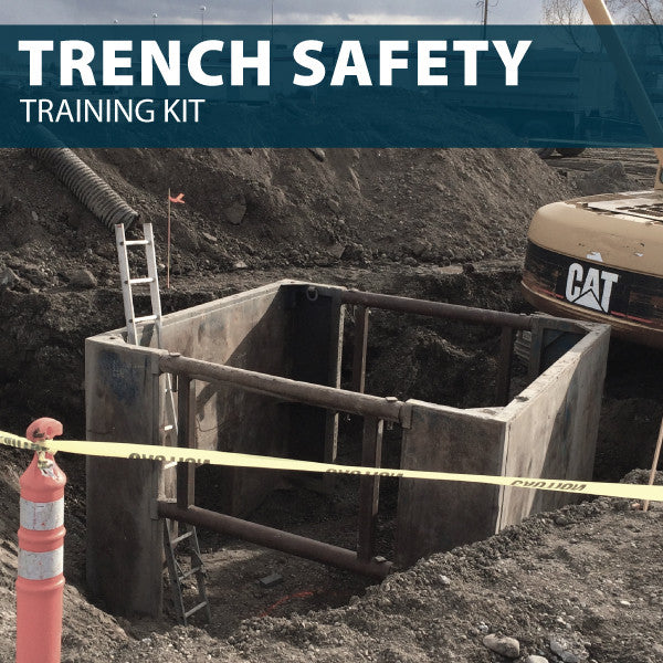 Trench Safety Training Kit (USB)
