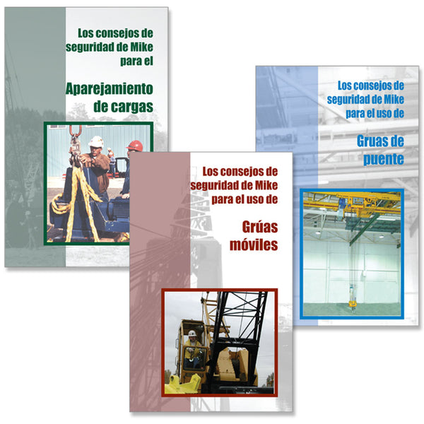 Mike's Safety Tips (3 Booklet Set - Spanish)
