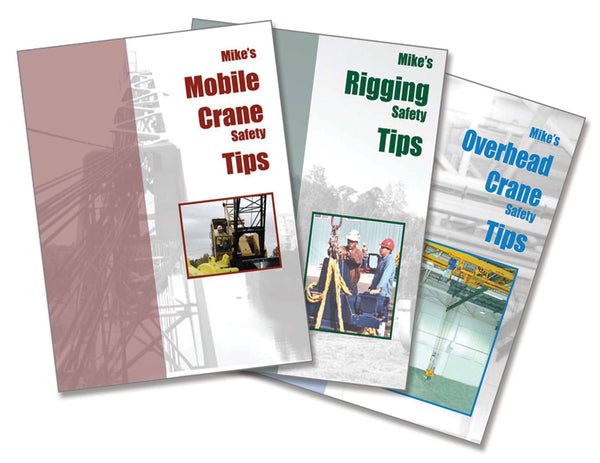 Mike's Safety Tips (3 Booklet Set - English)
