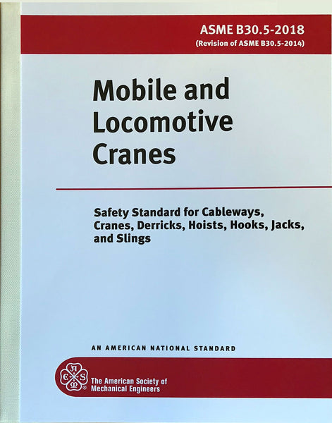 B30.5 Mobile and Locomotive Cranes