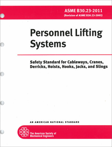 B30.23 Personnel Lifting Systems