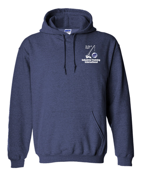 Men's Hooded Sweatshirt (ITI Logo)