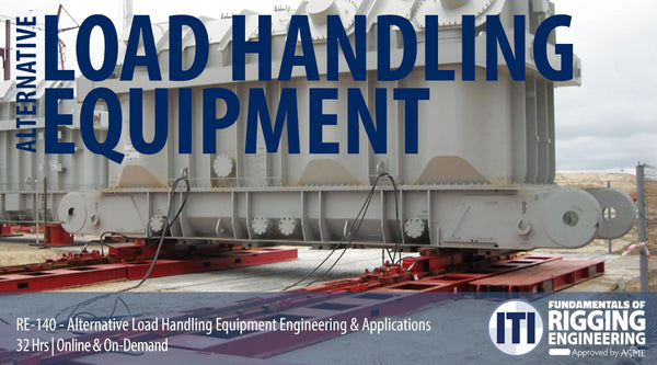 Alternative Load Handling Equipment Engineering & Applications (RE-140)