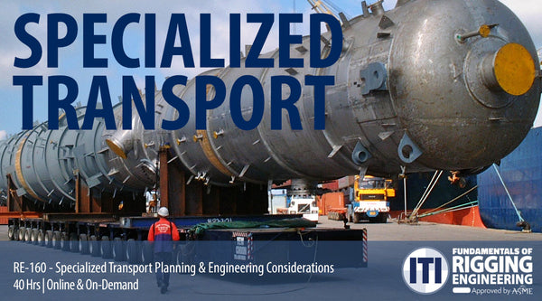 Specialized Transport Planning & Engineering Considerations (RE-160)