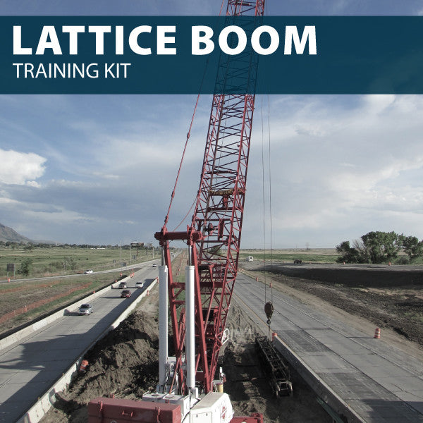 Lattice Boom Training Kit (USB)
