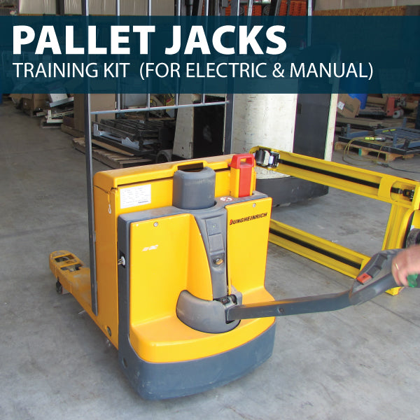 Pallet Jacks (Manual & Electric) Training Kit (USB)