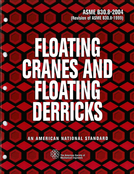 B30.8 Floating Cranes & Floating Derricks
