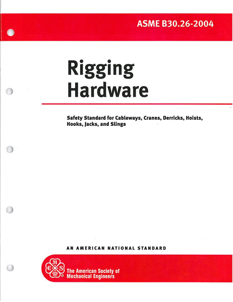 B30.26 Rigging Hardware