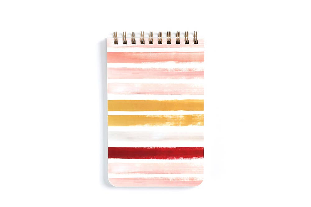 Large Sunset Stripe Notebook