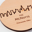 Personalized Skyline Coasters