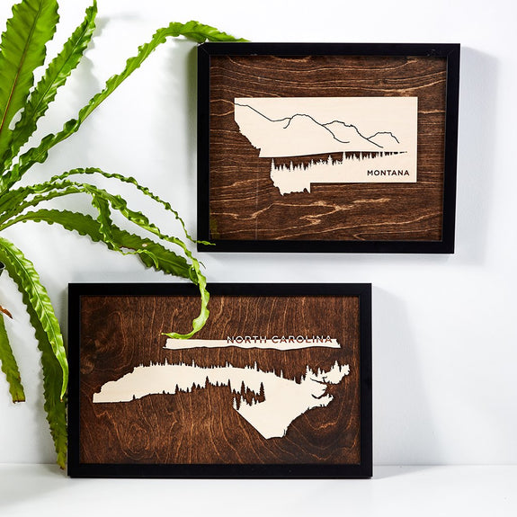 Framed Mountain Scapes