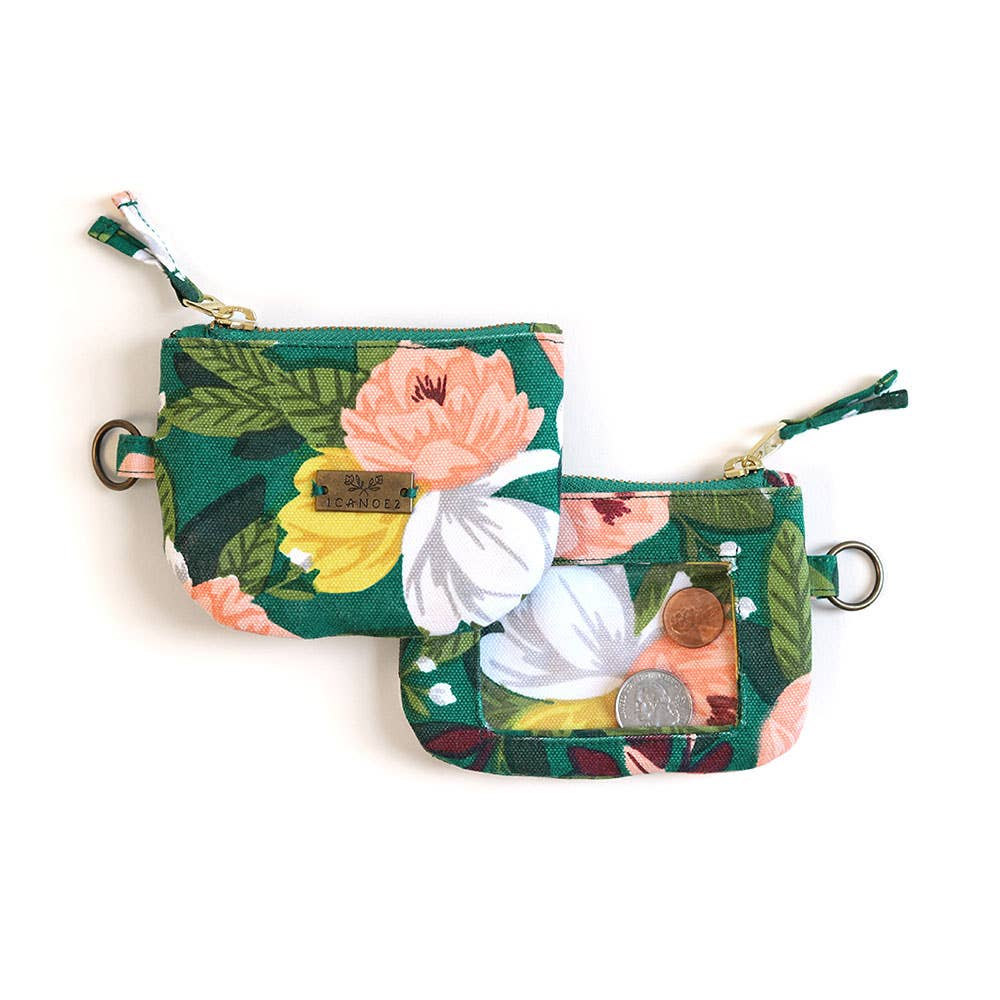 Ambrose Floral Keychain Pouch