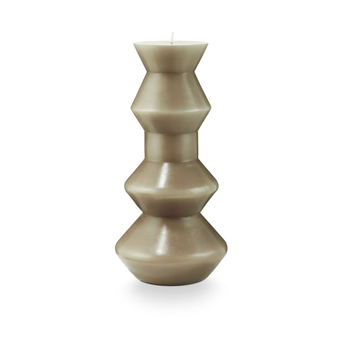 Medium Geo Pillar Candle