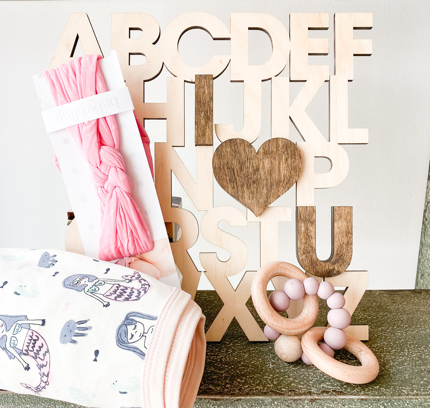 Mermaid Baby Girl Gift Set (no. 6)