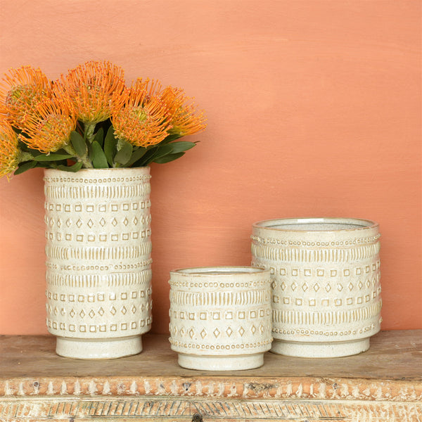 Peru Ceramic Pot - 3 Sizes