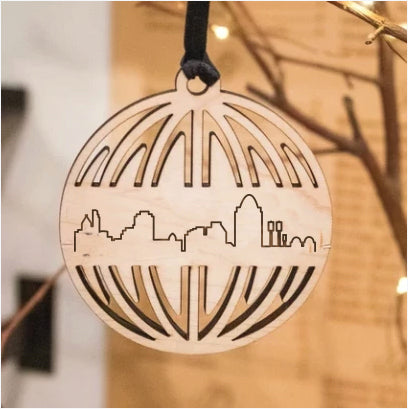 City Skyline Ornament