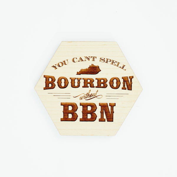 Bourbon and BBN Coasters
