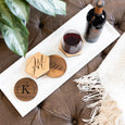 Personalized Monogram Coaster Set