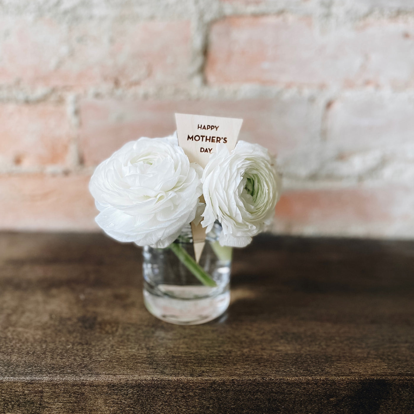 Mother's Day Triangle Plant Tag