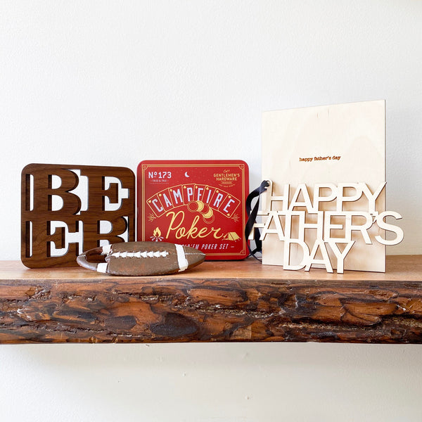 Campfire & Beer Father's Day Gift Set (No. 40)