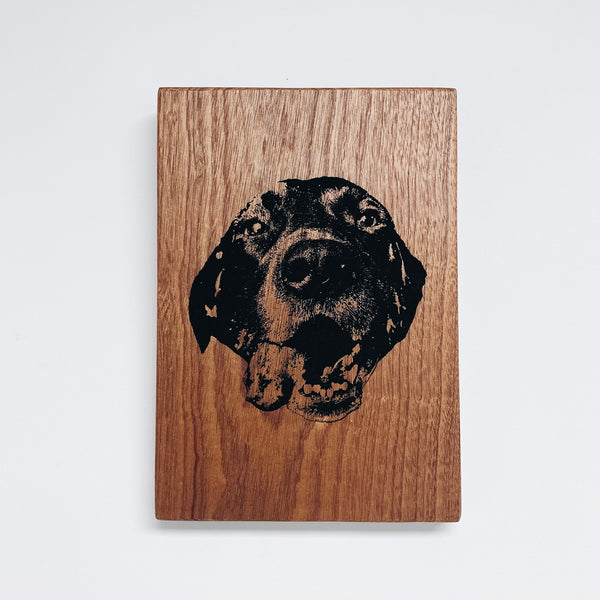 Personalized Pet Wood Sign