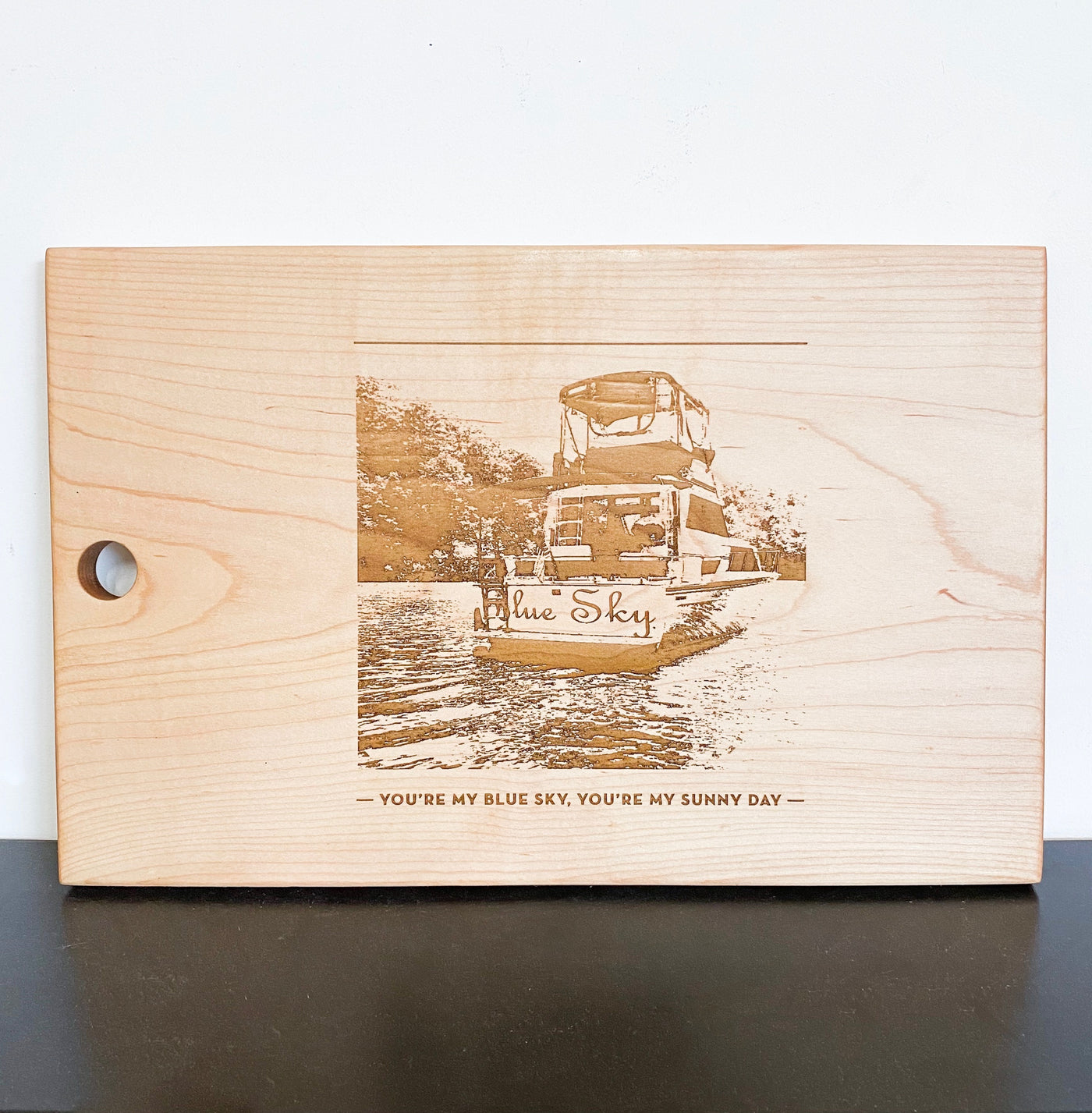 Personalized Image Cutting Board