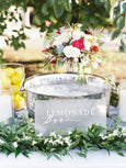 Frosted Acrylic Wedding Decor Inquiry