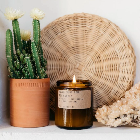 Sunbloom Soy Candle