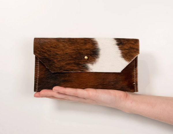 Hand Made Hair on Hide Phone Clutch
