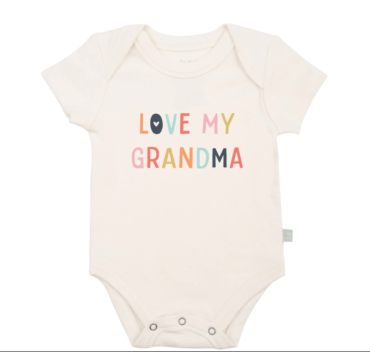 """Love My Grandma"" Graphic Bodysuit"