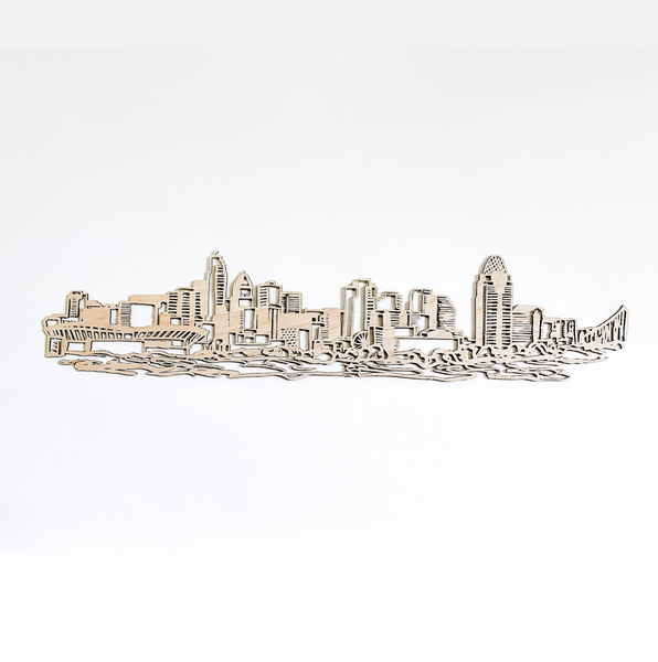 Illustrative Cincinnati Floating Skyline