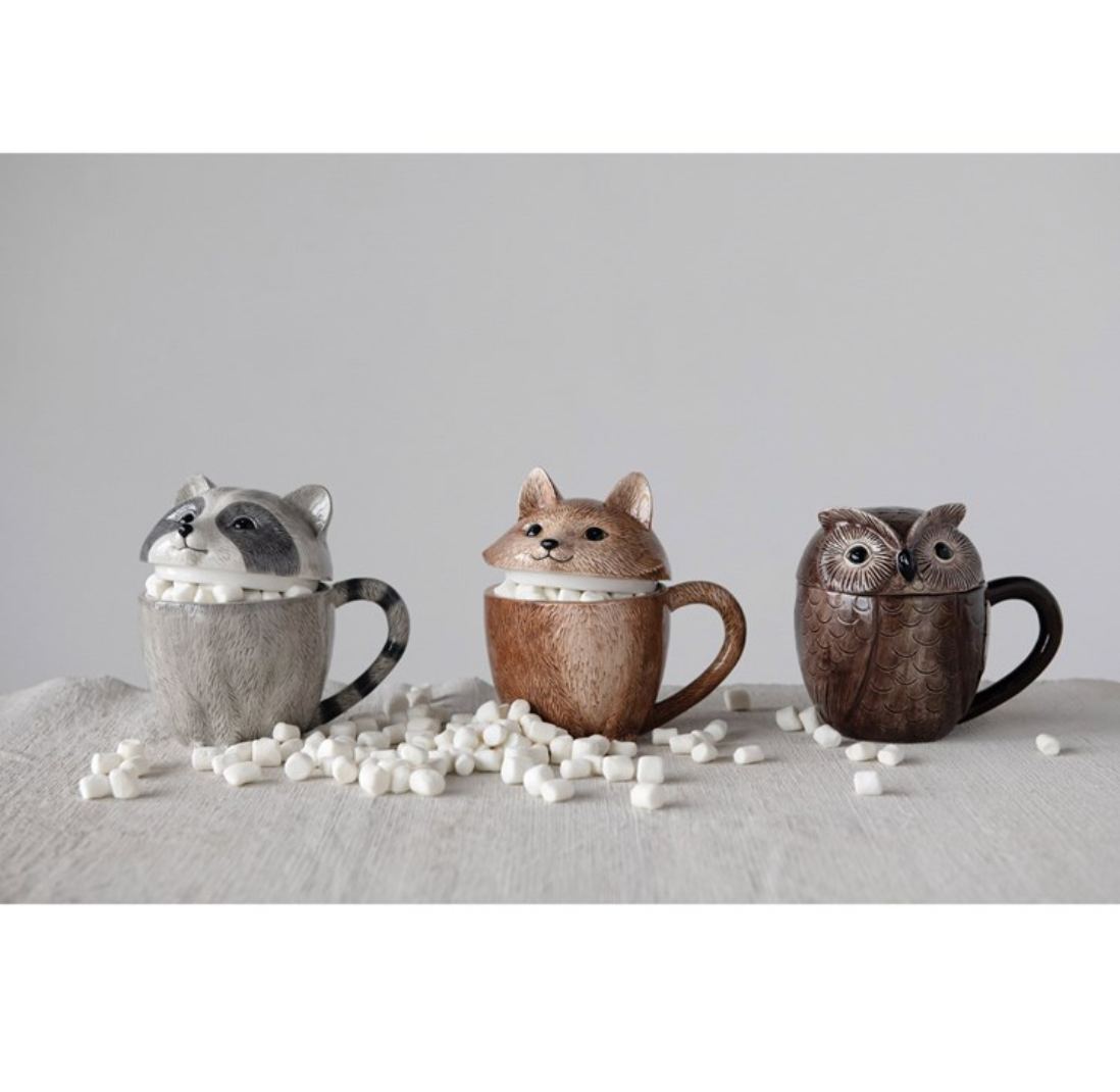 Animal Covered Mug