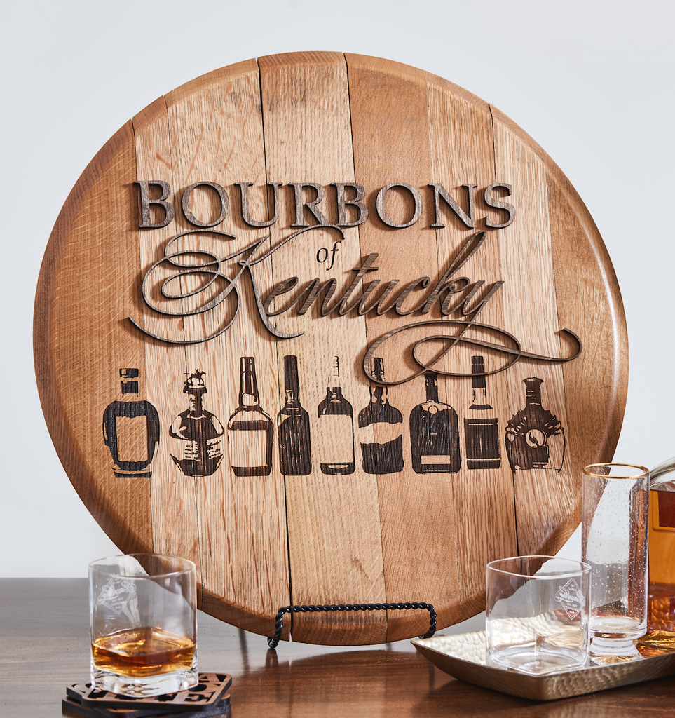 Bourbons of Kentucky Bourbon Barrel Head