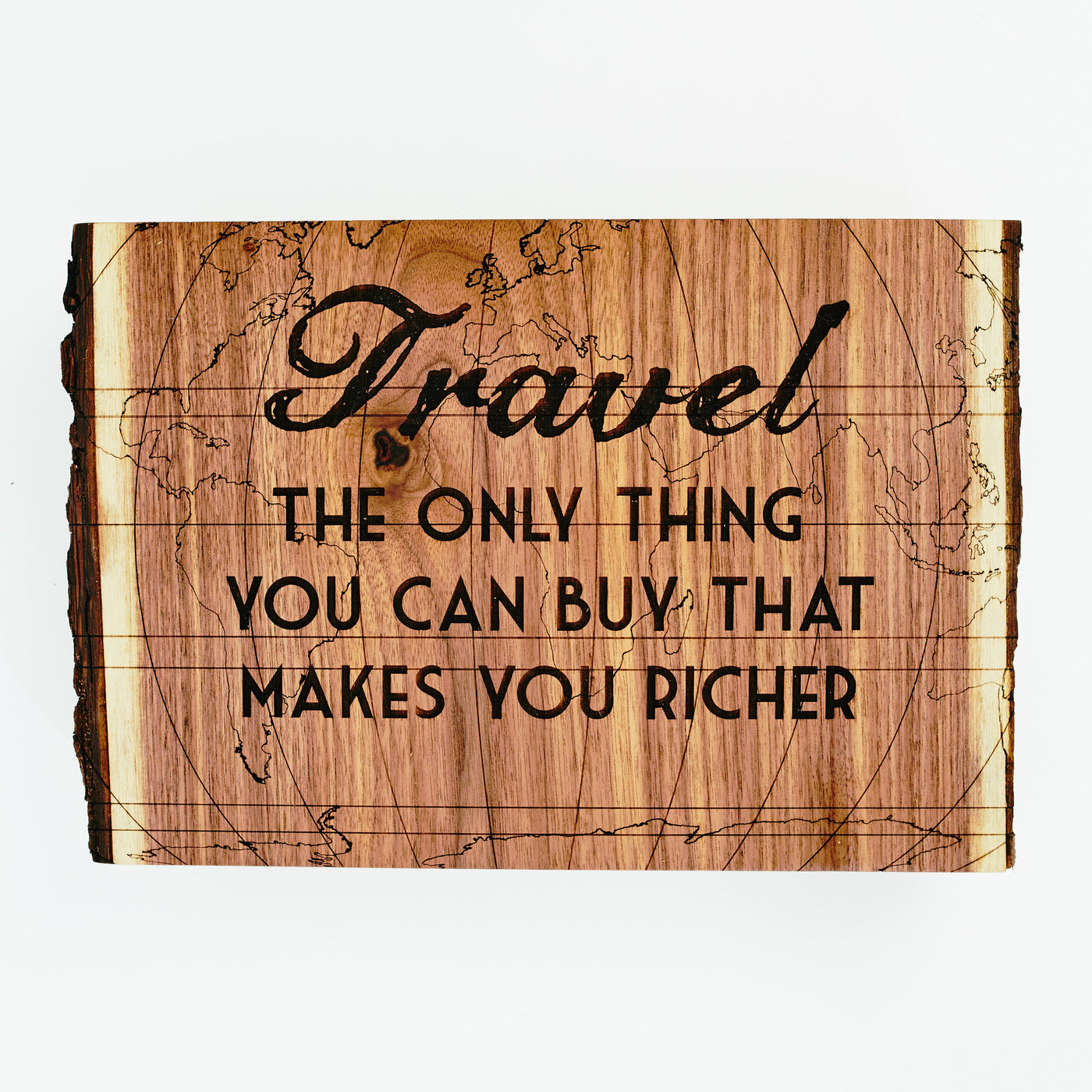 Travel Quote on Walnut