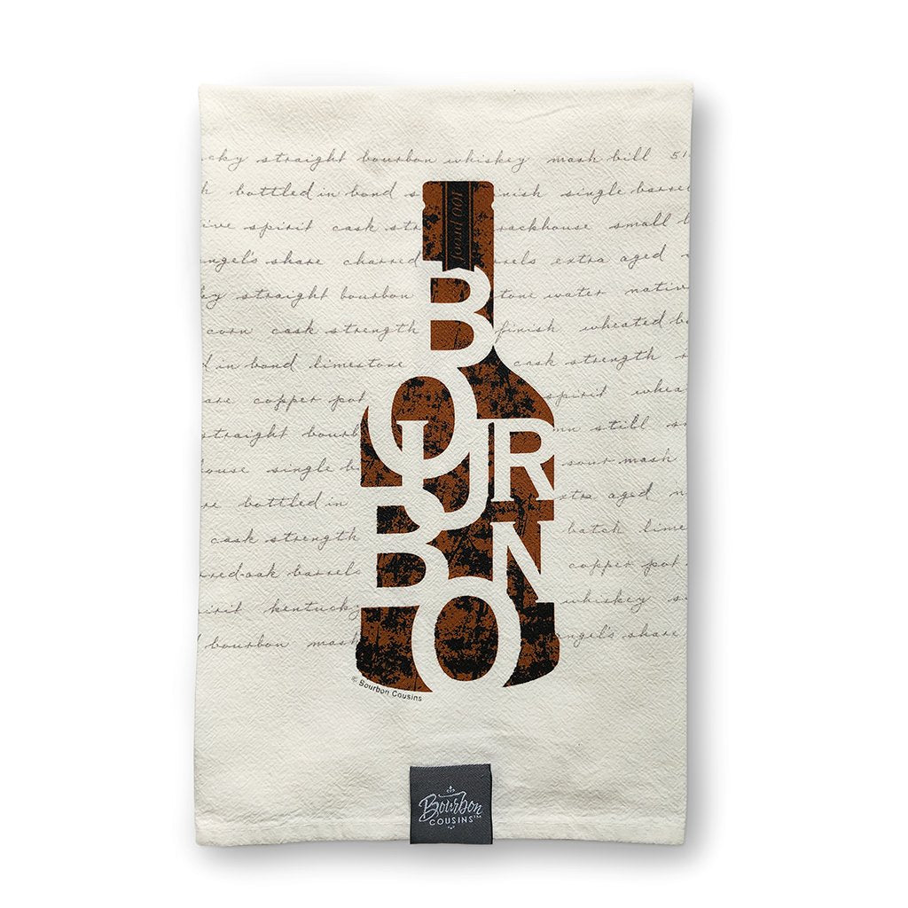 Bourbon Bar Towel