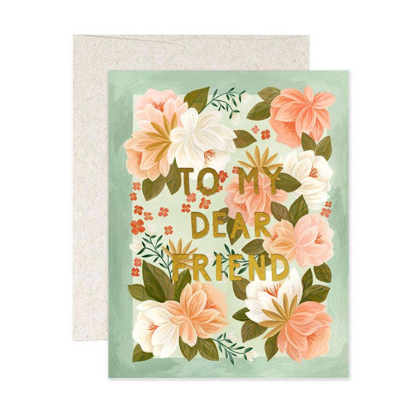 To My Dear Friend - Palm Spring Card