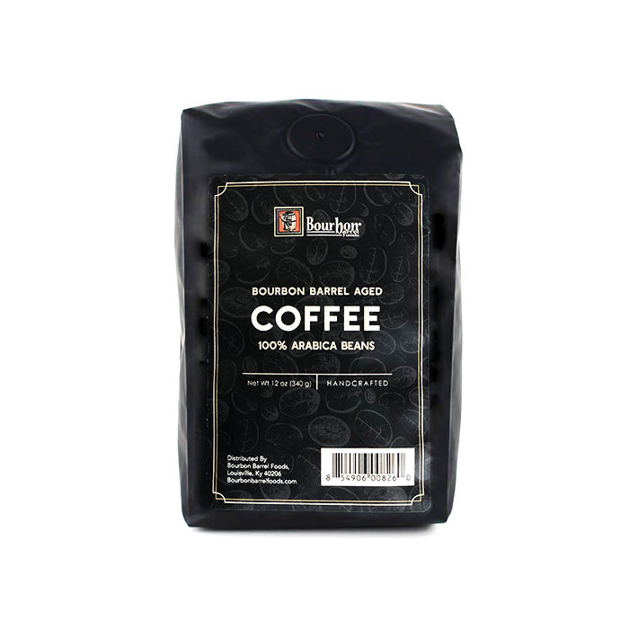 Bourbon Barrel Aged Coffee - 12oz bag