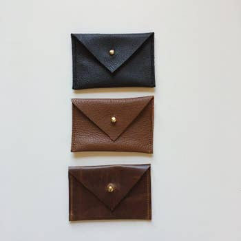 Hand Made Assorted Leather Mini Wallet