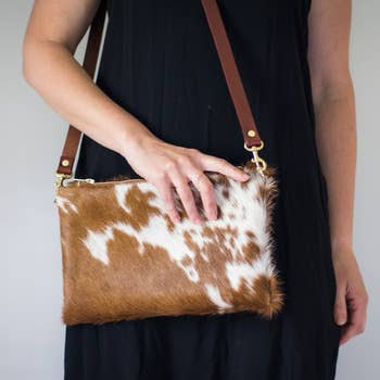 Wylie Cross Body Cowhide Hand Made Bag
