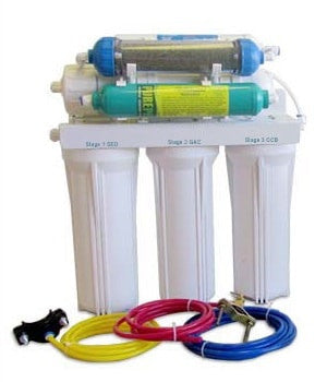 Maximus II + remineralizing Aquasafe Reverse Osmosis System