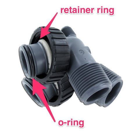 upflow carbon elbow adapters