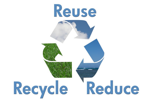 reuse recycle reduce triangle of arrows