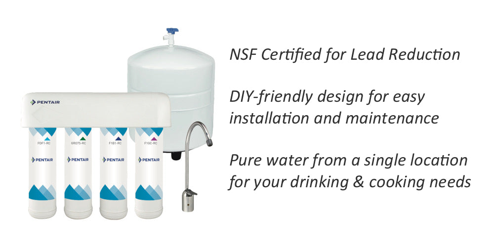 reverse osmosis filter system lead