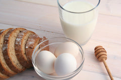 milk bread eggs sodium