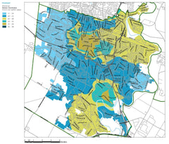 Kitchener ontario water hardness map