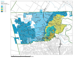 Waterloo ontario water hardness map