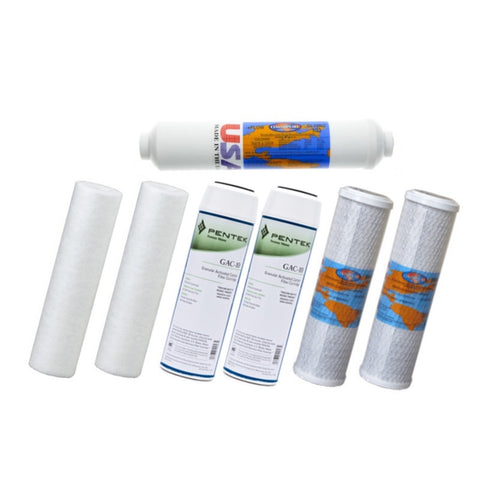 Aquasafe Canada Home II Reverse Osmosis Replacement Filter Cartridge Bundle